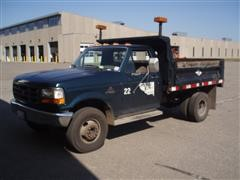 1997 Ford F-450 Super Duty Dump Truck