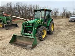 2008 John Deere 5101E MFWD Tractor W/Loader