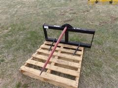 "Versatech Skid Steer Mount 48"" Bale Spear"