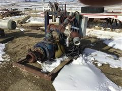 "6"" Mud Pump W/40 HP Electric Motor"