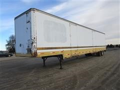 1988 Kentucky Enclosed T/A Trailer With Tanks