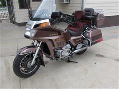 1986 Honda Goldwing 1200A Aspencade Motorcycle