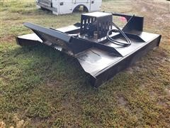 Brute 6' Wide Rotary Brush Cutter Skid Steer Attachment