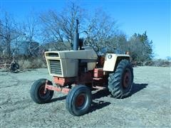 1970 Case 870 Agri King 2WD Tractor