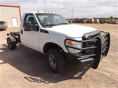 2011 Ford F-350 Super Duty Cab And Chassis