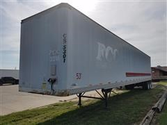 2000 Stoughton T/A Enclosed Trailer