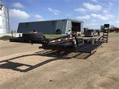 2001 Trail Tech CT220TT T/A Combine Trailer