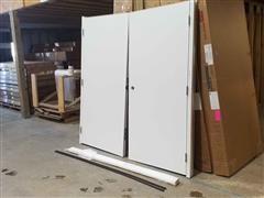 2018 AJ 5100 Custom Commercial Double Door
