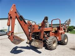 DitchWitch 7610DD Trencher/Backhoe/Blade
