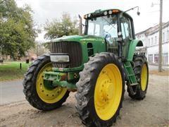 2007 John Deere 7330 High Crop MFWD Tractor