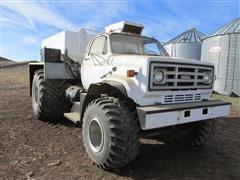 1979 GMC Big Wheels Dry Fertilizer Spreader