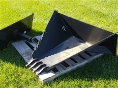 2018 Tomahawk 3011 Stump Bucket & Receiver Hitch Mount Attachment