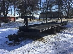 Homemade T/A Flatbed Tailer