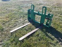 John Deere BW15085 Pallet Forks/ Bale Spear Combo
