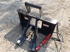 Industrias America Easy Man Skid Steer Mount Tree/post Puller