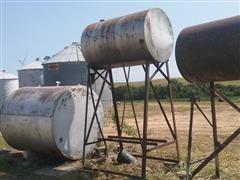 300-Gallon Fuel Tank W/Stand, Hose & Nozzle