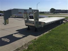 2016 Eby GN1EQP T/A Flatbed Trailer