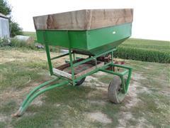 Kohles Welding Pull-Type Cart W/Endgate Seeder