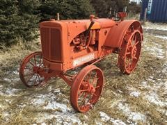 1938 Allis-Chalmers WF 2WD Tractor