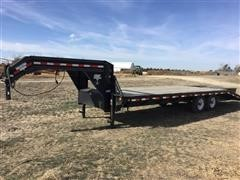 2007 P J - T/A Flatbed Equipment Trailer