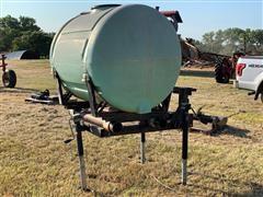 200-Gallon Mountable Tank On Stand