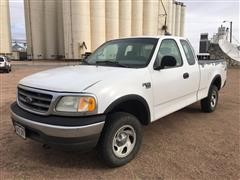2002 Ford F-150 4x4 Extended Cab Pickup