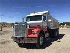 1991 Freightliner FLD120 T/A Dump Truck W/Snowplow