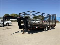 2002 Specially Constructed 20' T/A Flatbed Utility Trailer