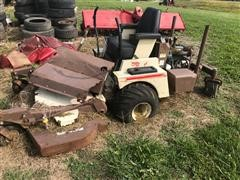 Grasshopper 731 Mower For Parts Only
