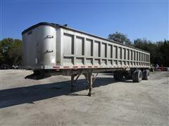 1996 Ravens 1040A6060-1140A68 Frameless 40' T/A Aluminum End Dump Trailer