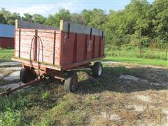 Diers Supply Barge Wagon On Westendorf Running Gear