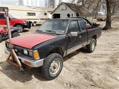 1985 Nissan 720 4x4 King Cab Pickup
