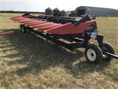 2009 Geringhoff RD1200/B 12R30 Chopping Corn Head W/Trailer