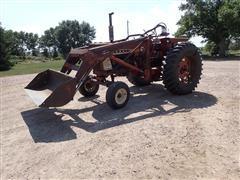 International F706 2WD Tractor W/DU-AL Loader