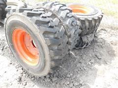 Titan 12-16.5 Tires On Orange Rims
