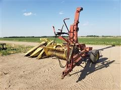 New Holland S717 Pull Type Forage Harvester W/2 Heads