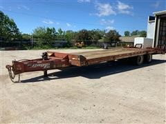 2005 Eager Beaver 20XPT T/A Flatbed Implement Trailer