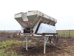 Monroe Snow & Ice Stainless Steel Salt & Brine Spreader