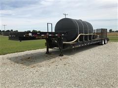 2012 Big Tex T/A Heavy Duty Lowboy Trailer W/3200gal Tank