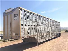 2001 Merritt Cattle Drive Tri/A Livestock Trailer