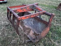 DU-AL Loader Bucket & Grapple