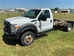 2013 Ford F550 Super Duty 4x4 Cab & Chassis