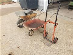 Wheelbarrows/Cart & Toolbox