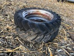 BF Goodrich 12-38 Rear Tires On Open Center Wheels