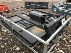 """2018 Suihe YS-72"""" Brush Cutter Skid Steer Attachment"""