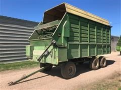 John Deere 716A T/A Silage Wagon On JD 1275 Running Gear