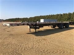 2007 Wilson CF-900 T/A Flatbed Trailer