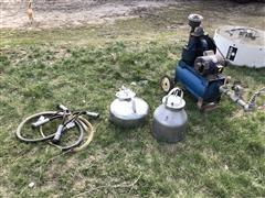 Surge Pump, Milker & Milk Receiver Jars