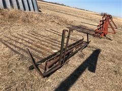 Farmhand Hay Stacker Fork W/Hydro Pusher