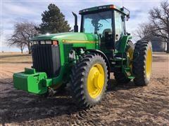 1996 John Deere 8200 MFWD Tractor